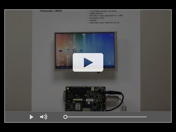 VAR-SOM-MX6 , $52 Freescale i.MX6 SOM - Running Android