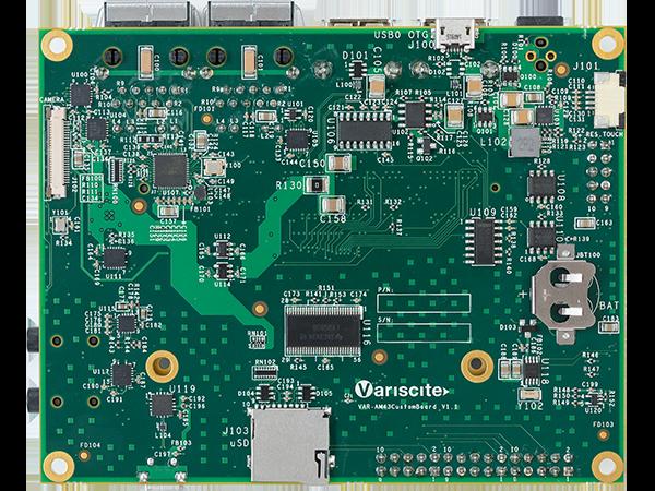 VAR-AM43CustomBoard bottom ARM Single Board Computer