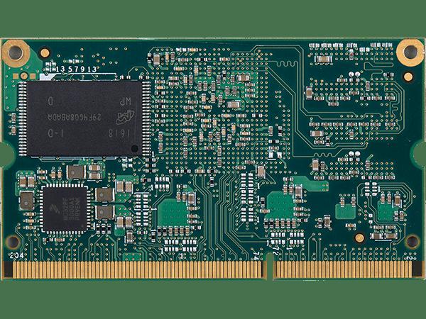 VAR-SOM-MX7 : Unterseite mit NAND