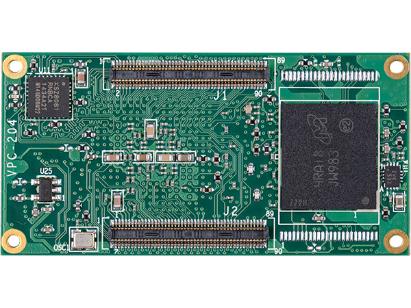 DART-6UL Unterseite mit MMC : i.mx6ul System on Module