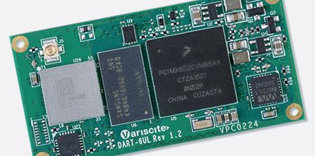 Eine neue kostenoptimierte Variante des DART-6UL-Moduls auf Basis des iMX6ULZ-Prozessors