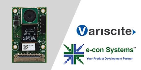 e-con Systems und Variscite LTD arbeiten zusammen, um eine Ultra-HD-MIPI-Kamera für die i.MX8-Prozessorfamilie