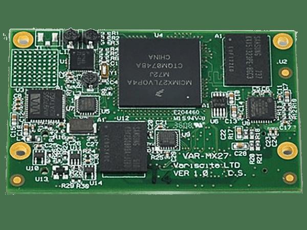 VAR-SOM-MX27: Freescale i.MX27 System on Module (SoM)