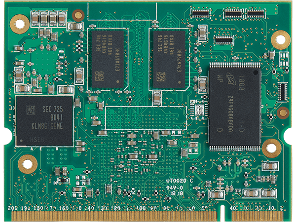 VAR-SOM-MX6 bottom : NXP iMX6 System on a Module