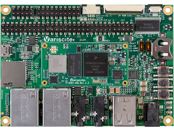 DART-6UL Starter Kit - NXP i.MX6 UltraLite / 6ULL evaluation kit
