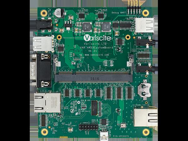 VAR-SOM-AM43 ARM Single Board Computer