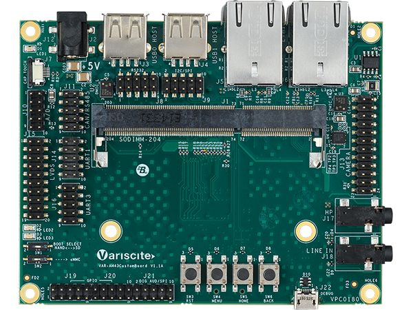 VAR-SOM-AM43 ARM Single Board Computer