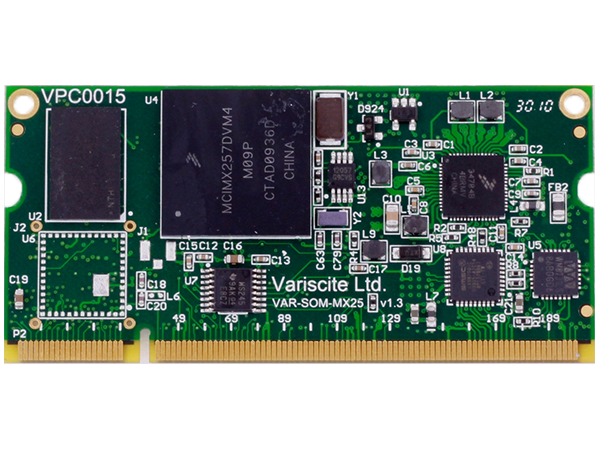 VAR-SOM-MX25: Freescale i.MX25 System on Module (SoM)