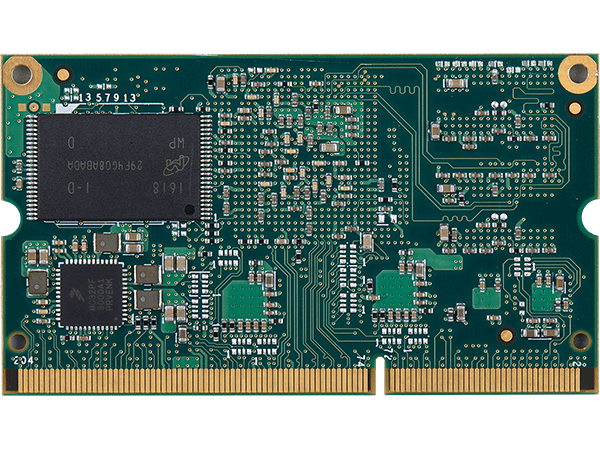 VAR-SOM-MX7 bottom with NAND : NXP iMX7 System on a Module