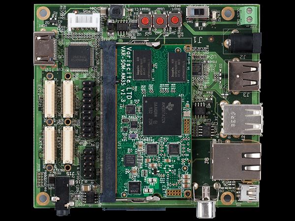 VAR-SOM-OM37 Starter Kit - Texas Instruments DM3730 / AM3703 evaluation kit