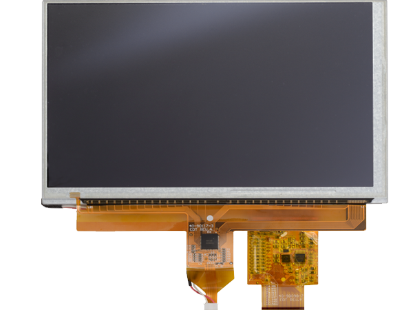 VLCD-CAP-EDT Display