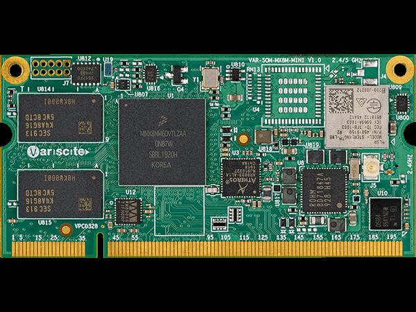 VAR-SOM-MX8M-MINI : NXP i.MX8M Mini System on Module (SoM)
