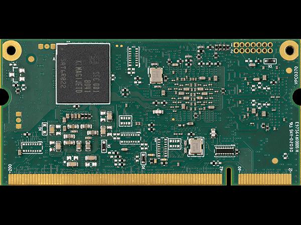 VAR-SOM-MX8M-PLUS bottom : NXP i.MX8M Plus System on a Module